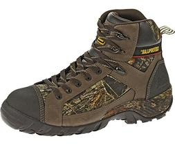 Caterpillar Men's Hoit Mid WP Comp Toe Work Boot, Camouflage