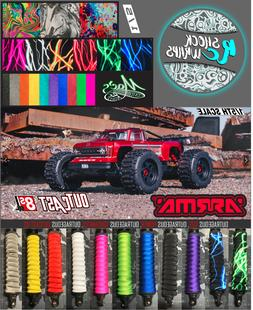 *HOT NEW* 1/5 OUTCAST 8s Arrma RC - Shock Covers Shock Wraps