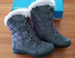 Columbia Women's Ice Maiden II Waterproof Winter Boots  - 9.