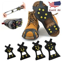 Ice Snow Anti Slip Spike-s Grips Grippers Crampon Cleats For