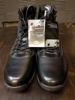 "Dickies Javelin 8"" Black Soft Toe Leather Work Boot DW6485 M"