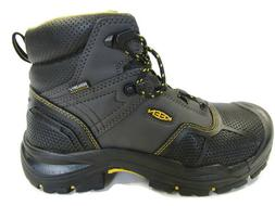 "Keen Logandale 1017828 Men's 6"" Waterproof Steel Toe Black W"