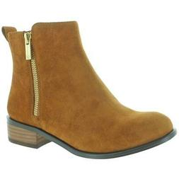 Jessica Simpson Kesaria Ankle Casual Suede Booties Boots