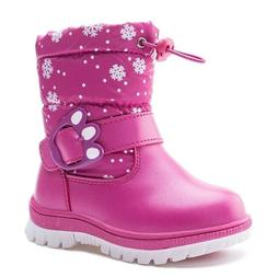 Kids Boots Girls Ankle Length Rubber Snow For Children Winte