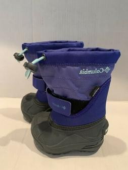 Columbia Kids Toddler Winter Snow Boots Size 4- New Never Wo