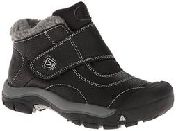 KEEN Kootenay Winter Boot , Black/Neutral Gray, 6 M US Big K