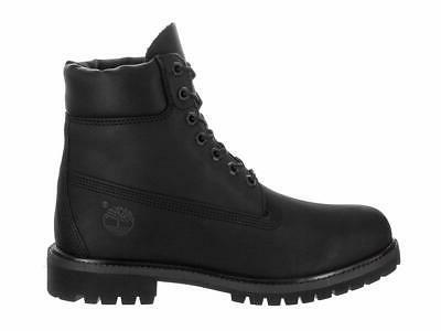 "Timberland 6"" Closed Toe Black Men's Boots"