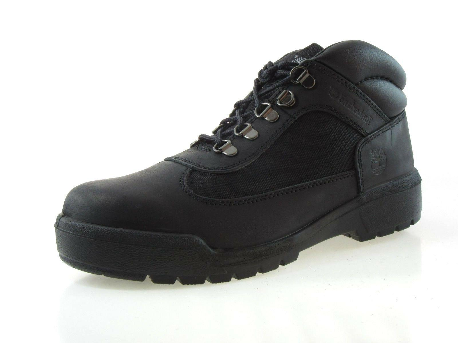 TIMBERLAND 6531A MEN'S BLACK HIKER FIELD BOOTS
