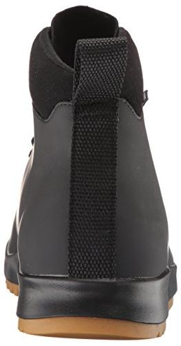Native Men's Boot CT/Jiffy Black/NAT Rubber, M US