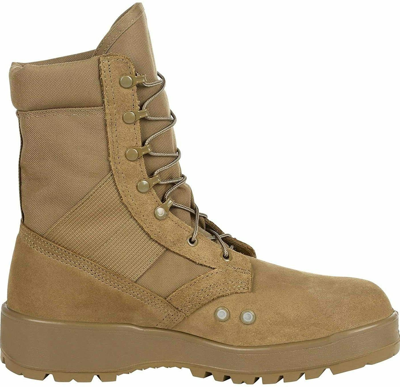 Rocky Army Desert TAN Weather Combat Boots Size New in Box!