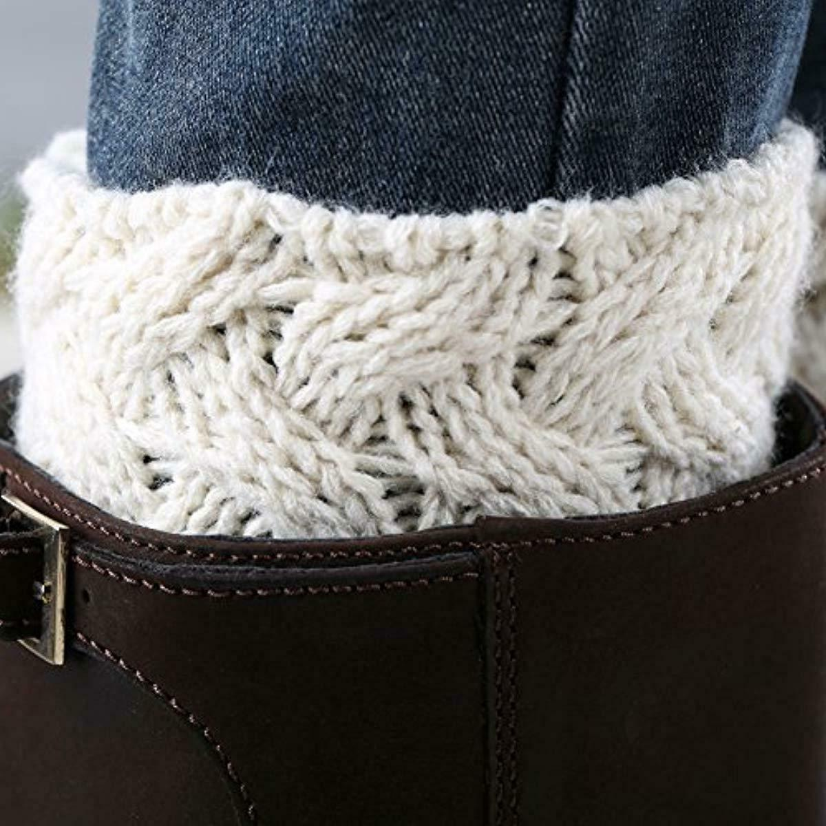 FAYBOX Crochet Cable Knit