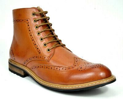 Bruno Marc Mens Up Motorcycle Boots Boots
