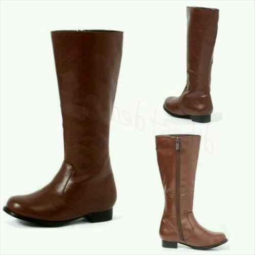BROWN BOOTS FOR BOYS SIZE S