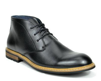 Bruno Marc Mens Bergen-02 Faux Leather Oxfords Ankle Boots