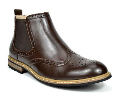 Bruno Combat Oxfords Chelsea Boots