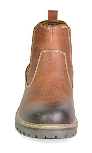 Bruno Engle-03 Brown Lined Chelsea Ankle Boots 11 M