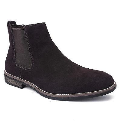 BRUNO MARC Suede Dress Ankle Boots Casual Shoes