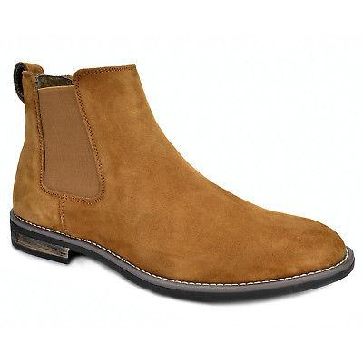 BRUNO URBAN Suede Leather Chelsea Dress Ankle Shoes