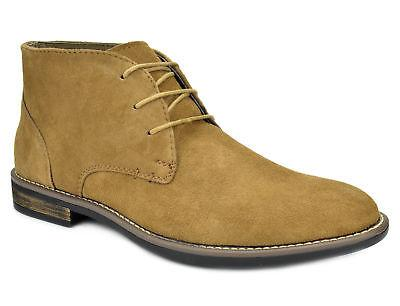 Bruno Marc Leather Oxfords Casual Chukka Boots