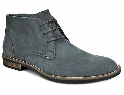 Bruno Marc Mens Leather up Casual Chukka Boots