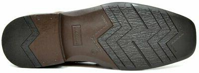 Bruno Marc Men's Brown Leather Lined Ankle M