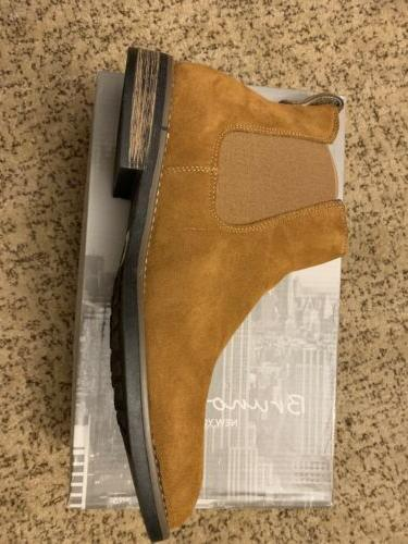 BRUNO Suede Leather Chelsea Dress Boots Shoes