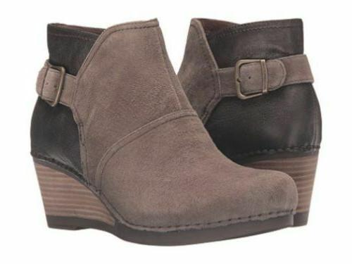 comfort women shirley suede ankle boots booties