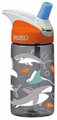 CamelBak Eddy 0.4 Liter Kids Water Bottle - Sharks