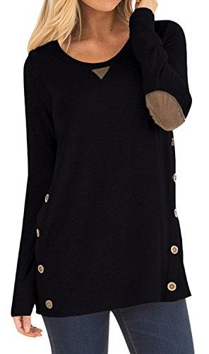 faux suede long sleeve loose