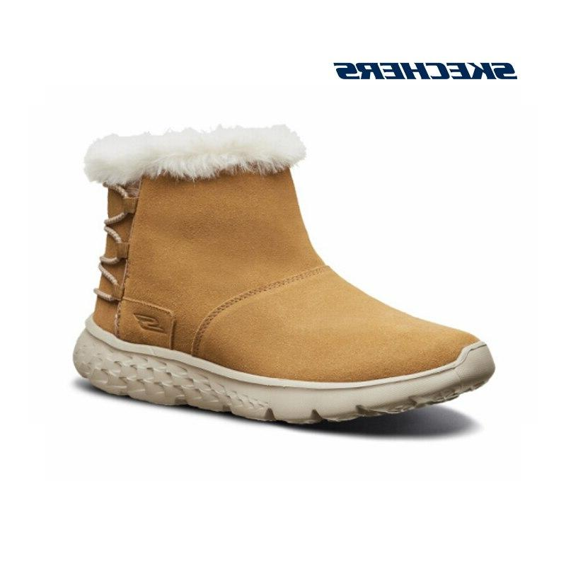 <font><b>Skechers</b></font> Comfortable Snow Women Ankle High booties