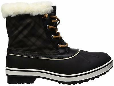 Global GLOBALWIN 1632 Black Snow Boots -