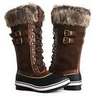 Global Win GLOBALWIN Women's 1730 Winter Snow Boots 1735brow