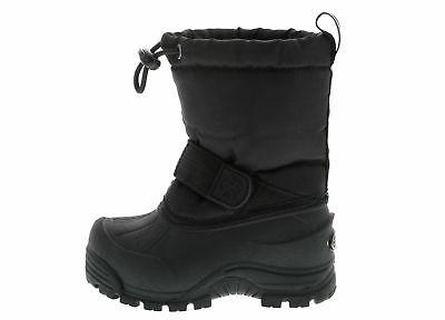 Northside Frosty Black Winter Snow Boys Insulated