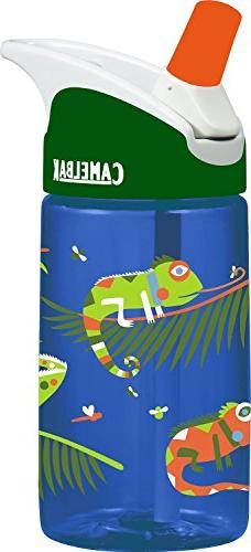 CamelBak 0.4-Liter Kids Bottle, Licking Lizards