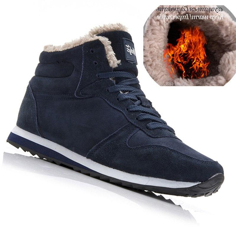 Men <font><b>Boots</b></font> Shoes Warm Ankle For <font><b>Boots</b></font> Shoes Sneakers Mens