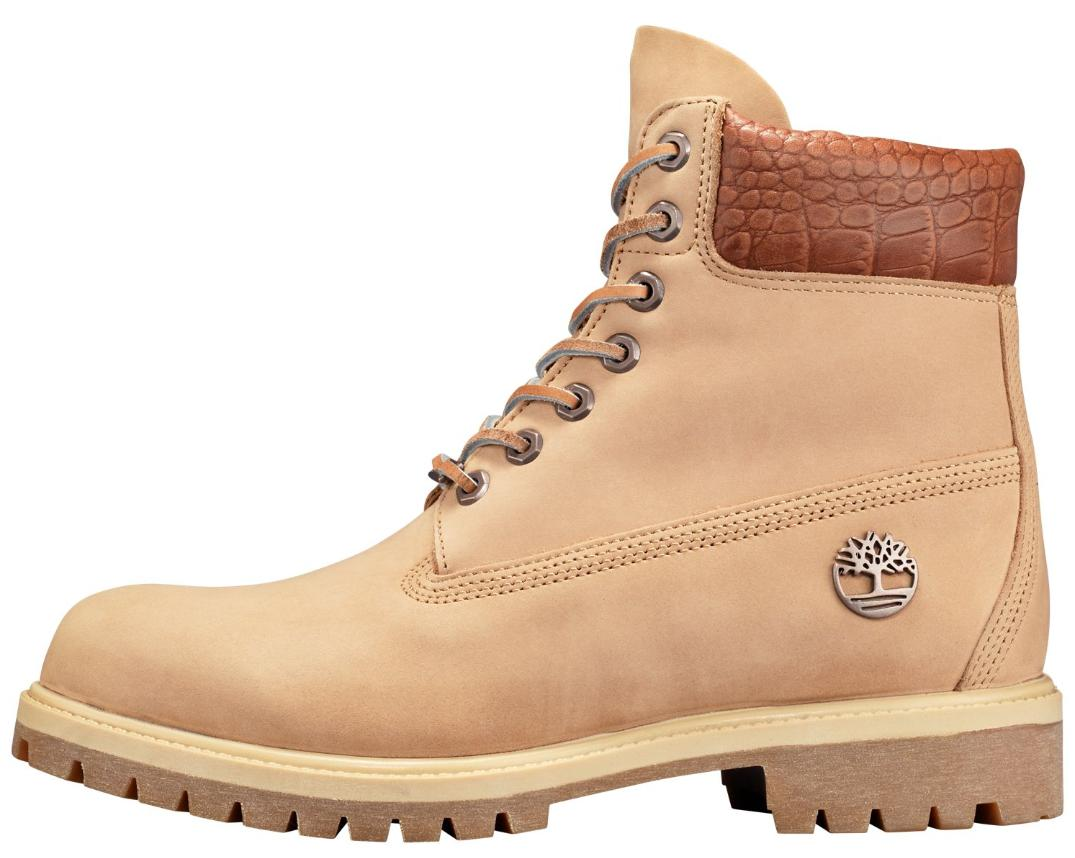 Timberland Men's 6 Premium Exotic Boots Style A1RAU Tan /