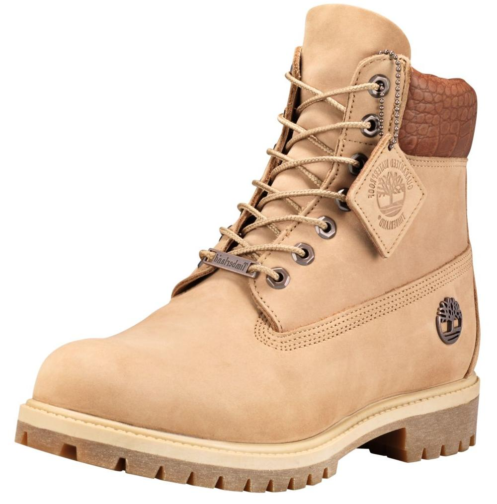 Timberland Men's 6 Inch Premium Exotic Leather Work Boots St