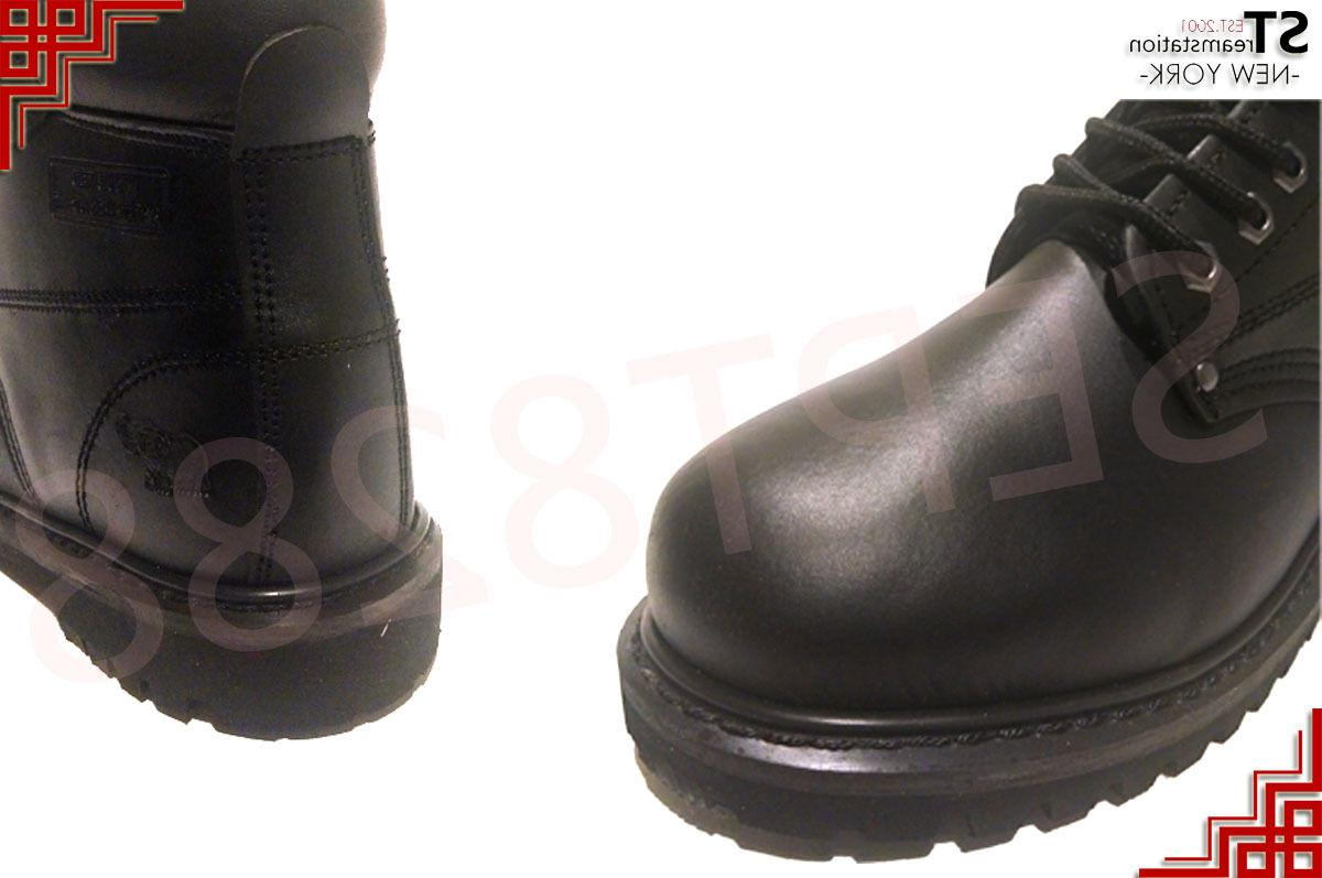 Men's Shoes With Steel Toe Leather Lace Up A6011ST 8605ST