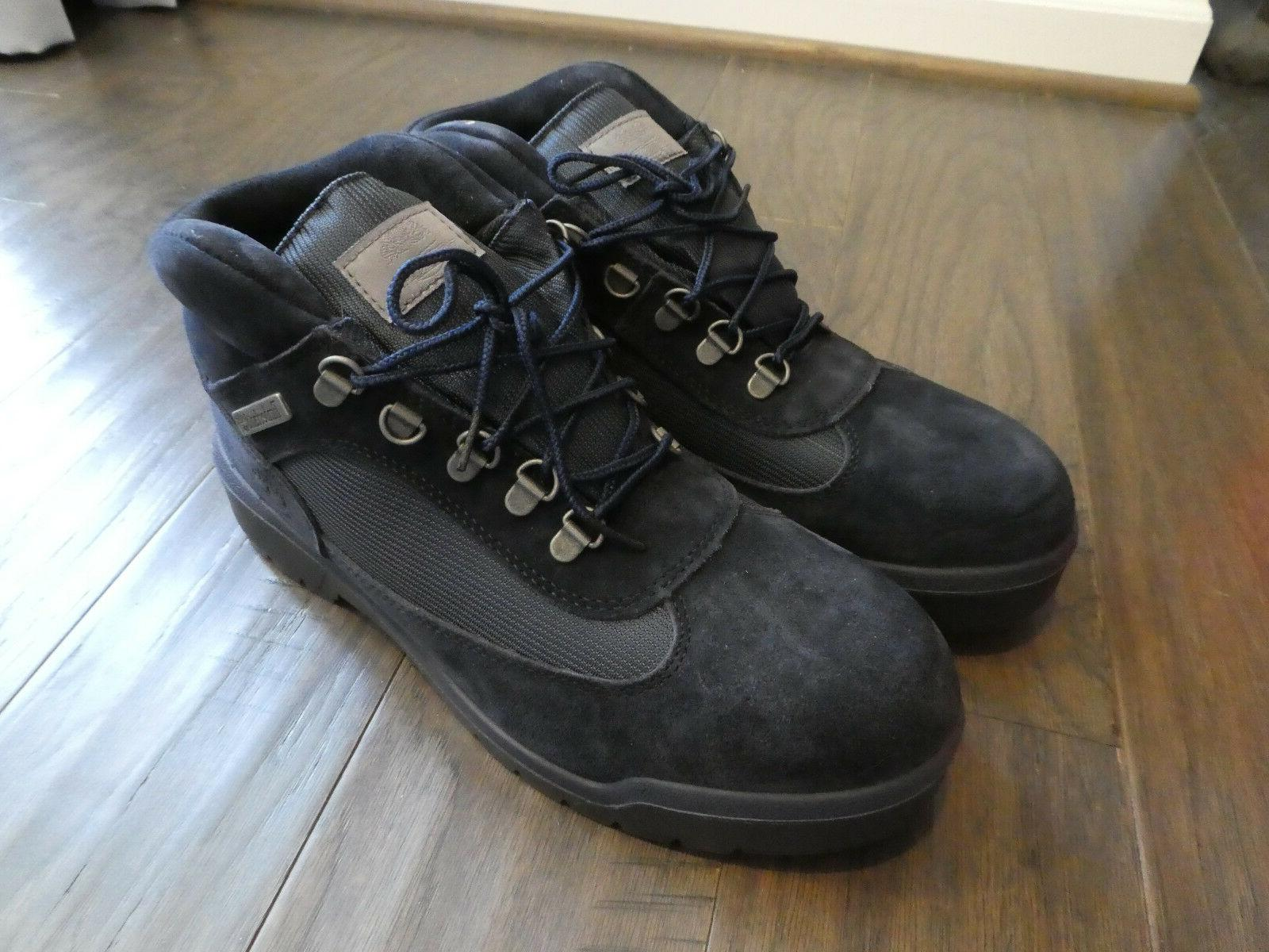 Men's Timberland Field Boots WP new Navy Blue suede TB0A1GZ1
