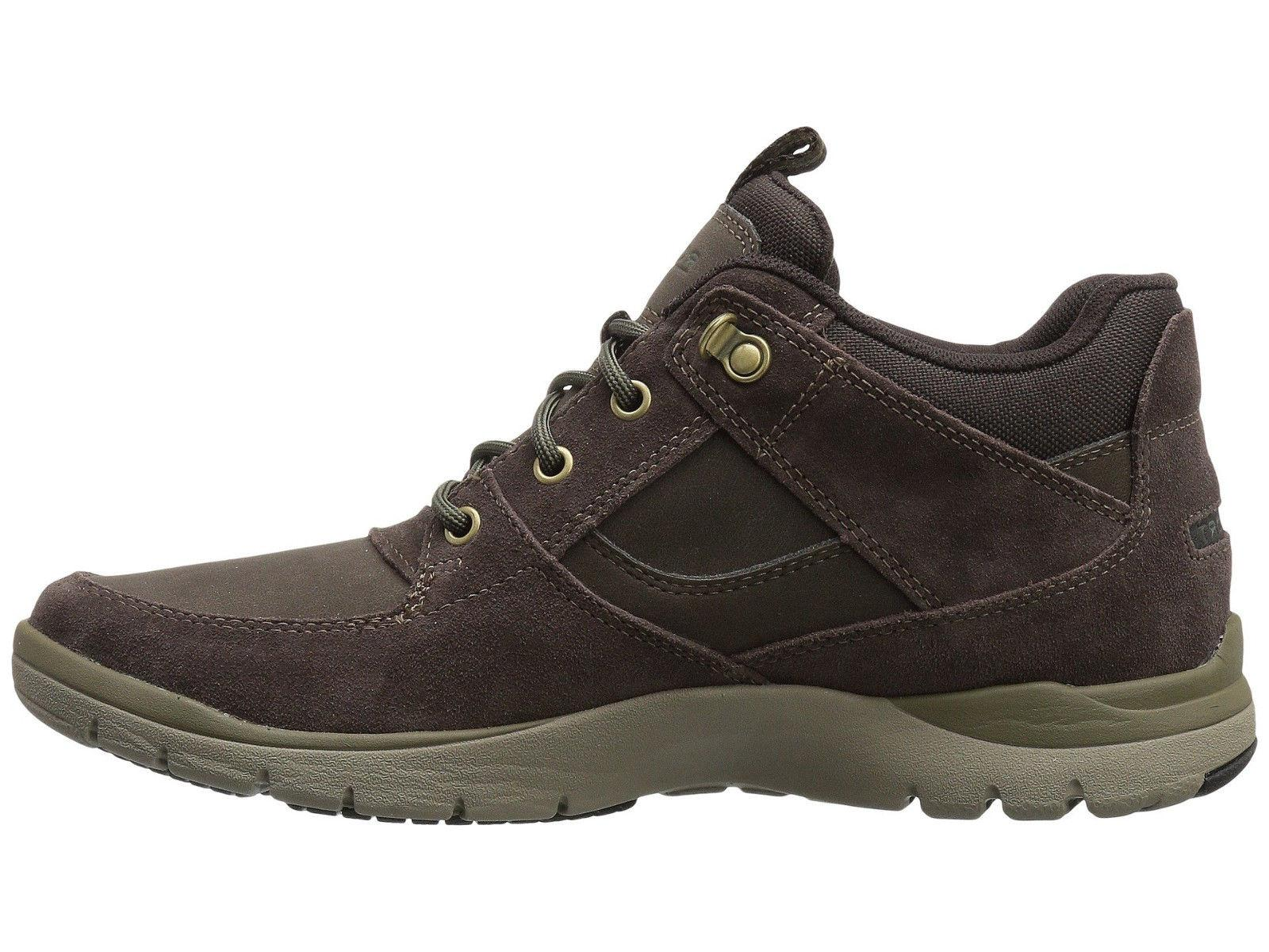 Rockport Men's Mid Boot, Brown, Size Box