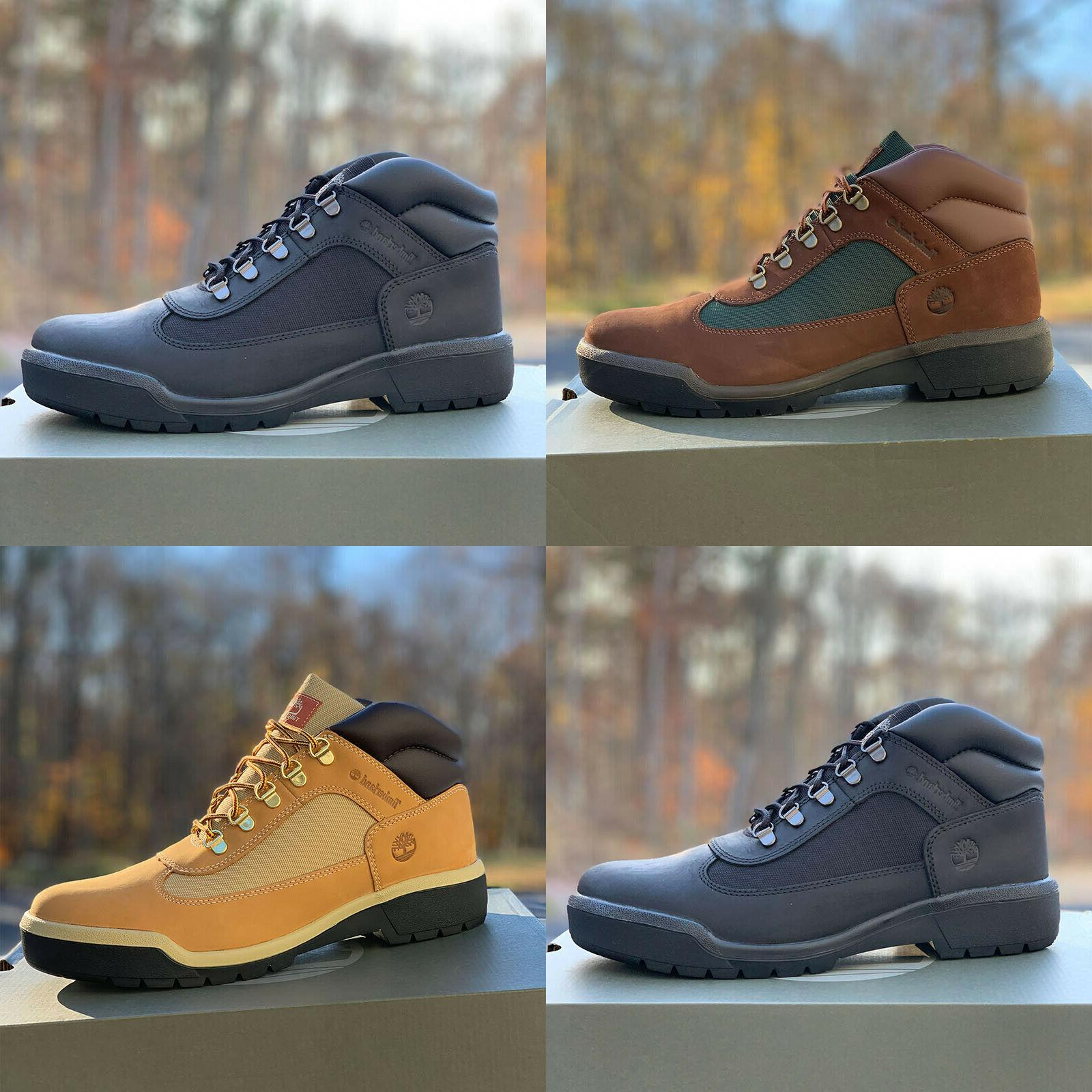 men s leather hiker field boots all