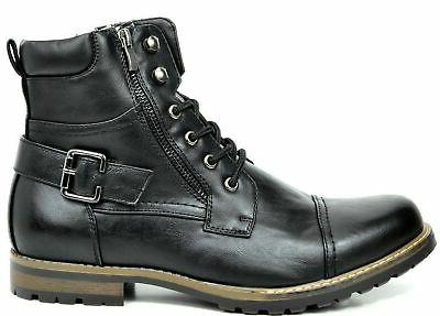 BRUNO MARC YORK Men's Military Boots US