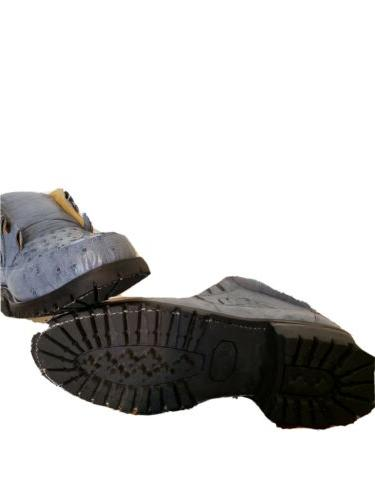 MEN'S NEW OSTRICH SHOES WITH HEAVY DUTY