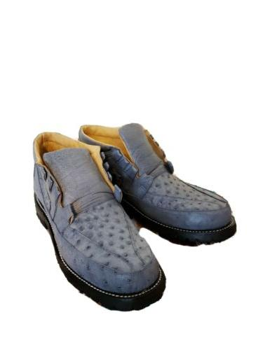 OSTRICH SHOES WITH DUTY SOLES.
