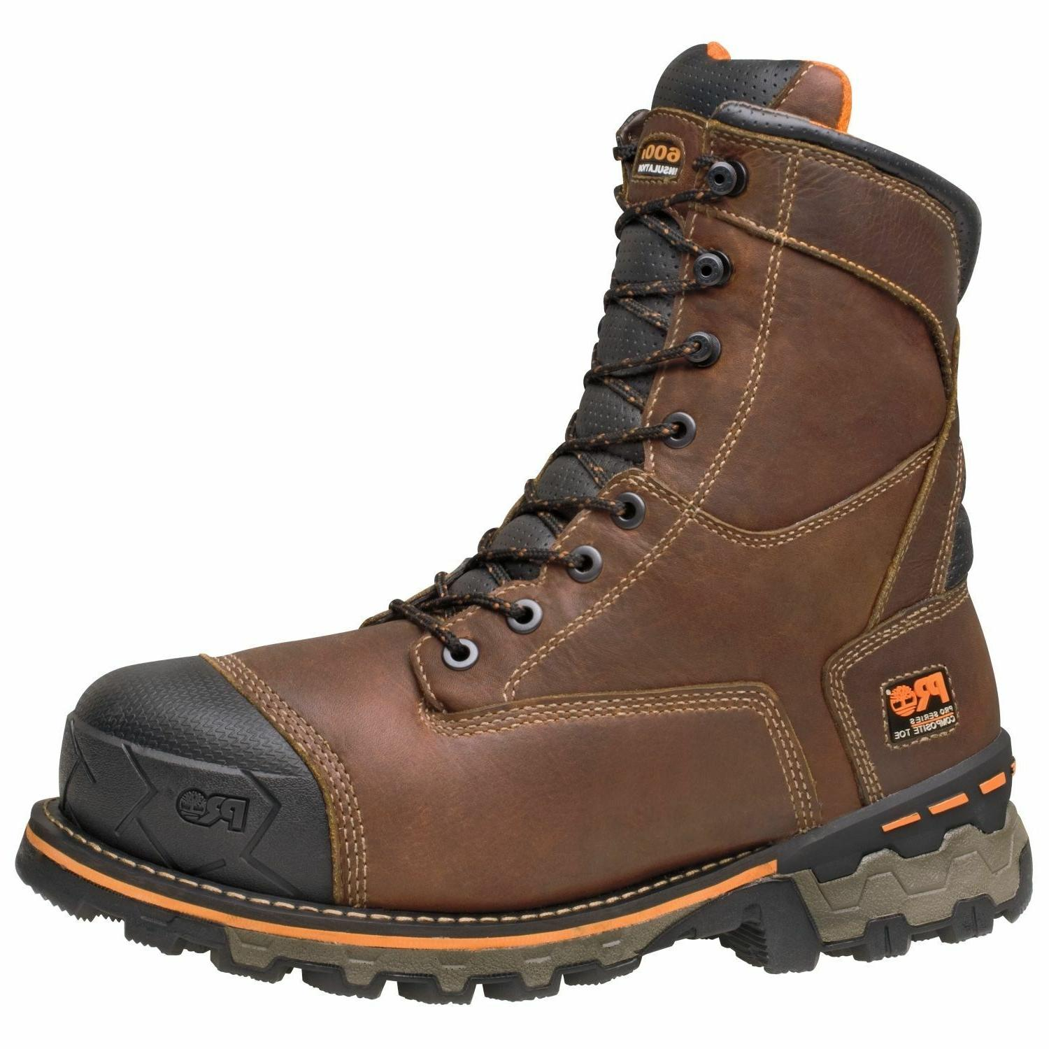 """Timberland Men's PRO 89628 Boondock 8"""" 600 GR Insulated WP C"""