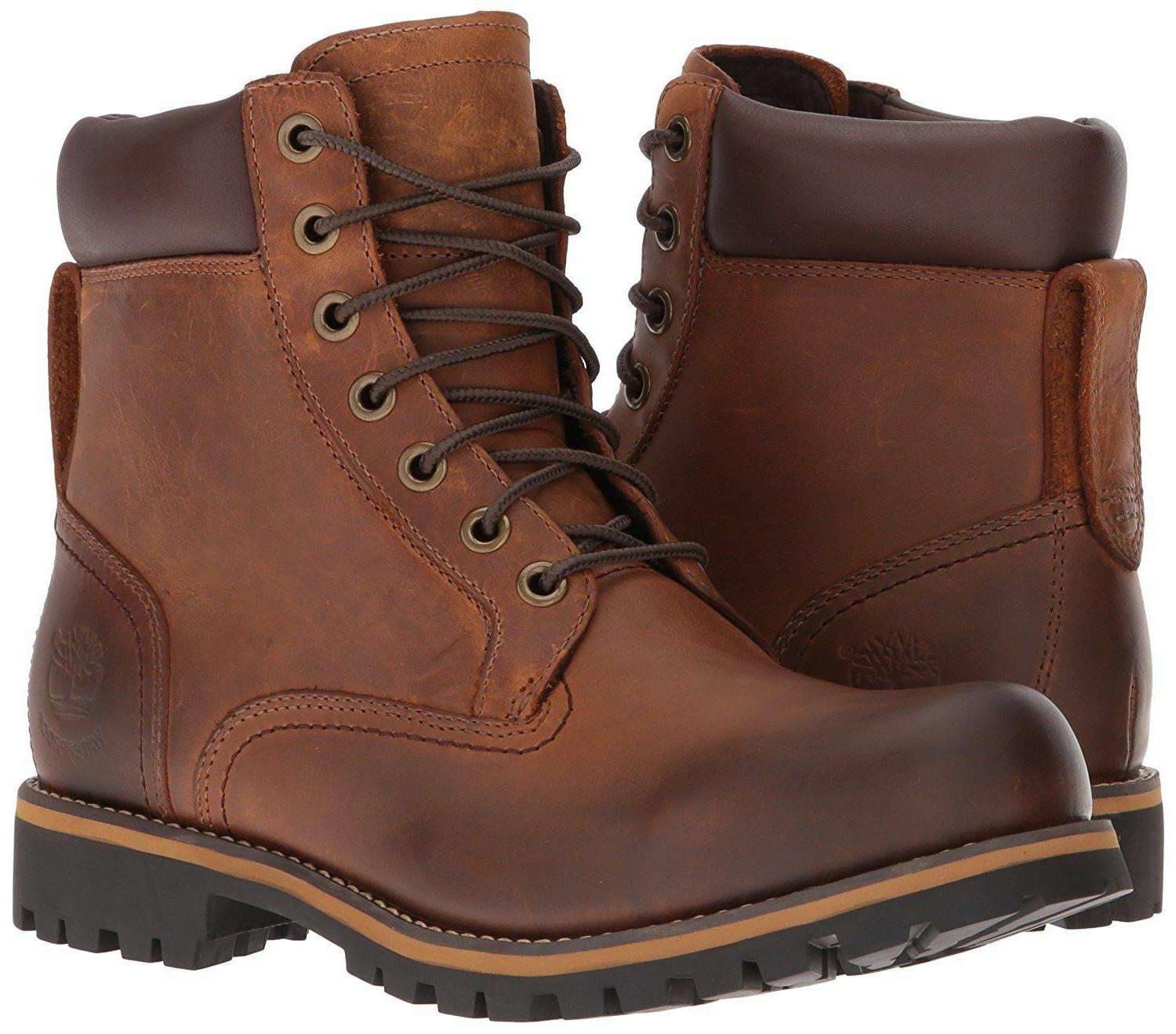 Men's Shoes Timberland Rugged 6-inch Waterproof Leather Boot