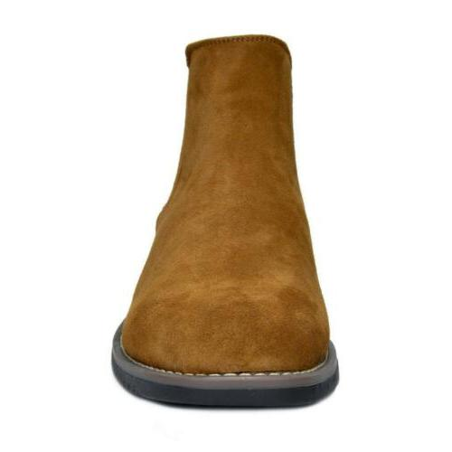 BRUNO YORK Men's Urban-06 Suede Leather Chukka Boots