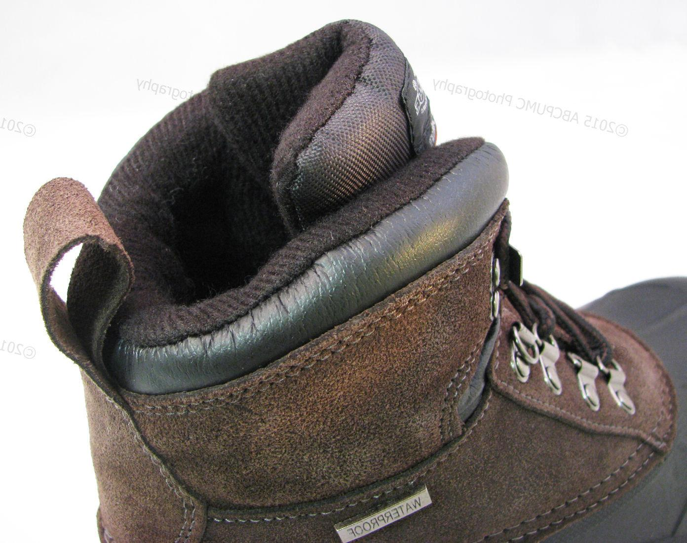 """Brand New Boots Leather 6"""" Waterproof Snow"""