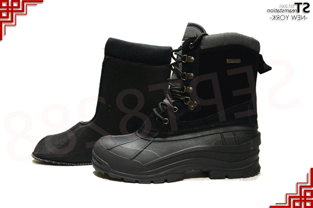 LM Men's Winter Boots Insulated Waterproof Thermolite