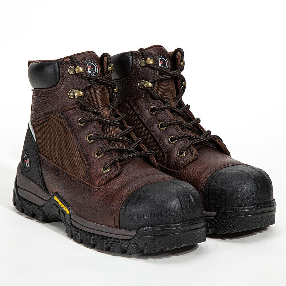 Work Boots Composite Toe Safety Working Shoes